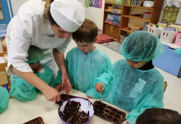 atelier chocolat ecole bilingue