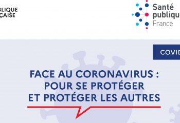 Face au Coronavirus petit